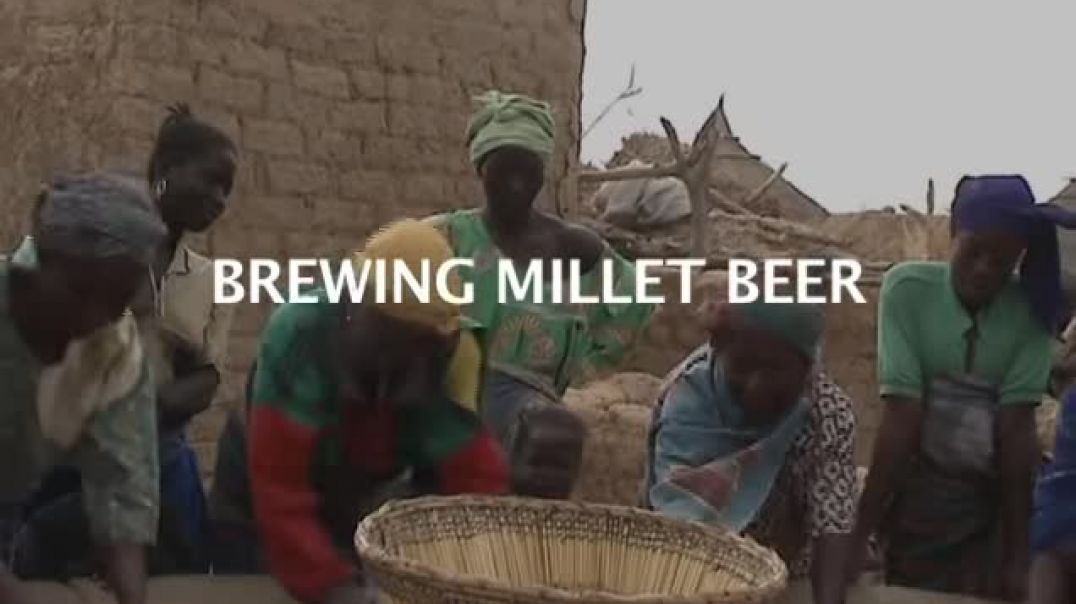 Kmtyw  (Black People) style of brewing Milet beer.