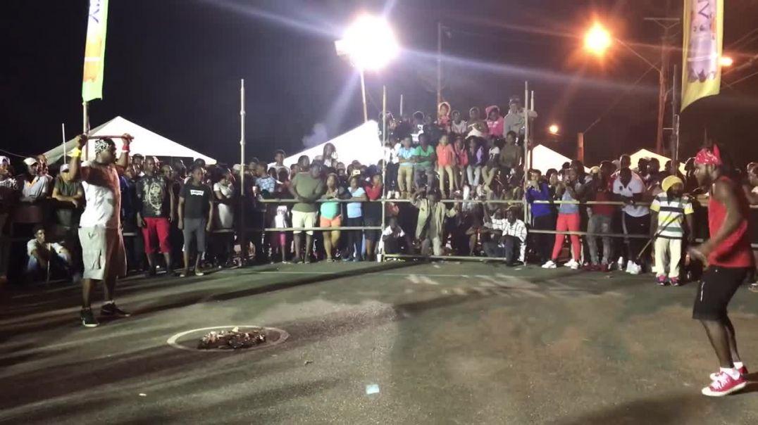 Trinidad Stick fight 2018 (Moruga)