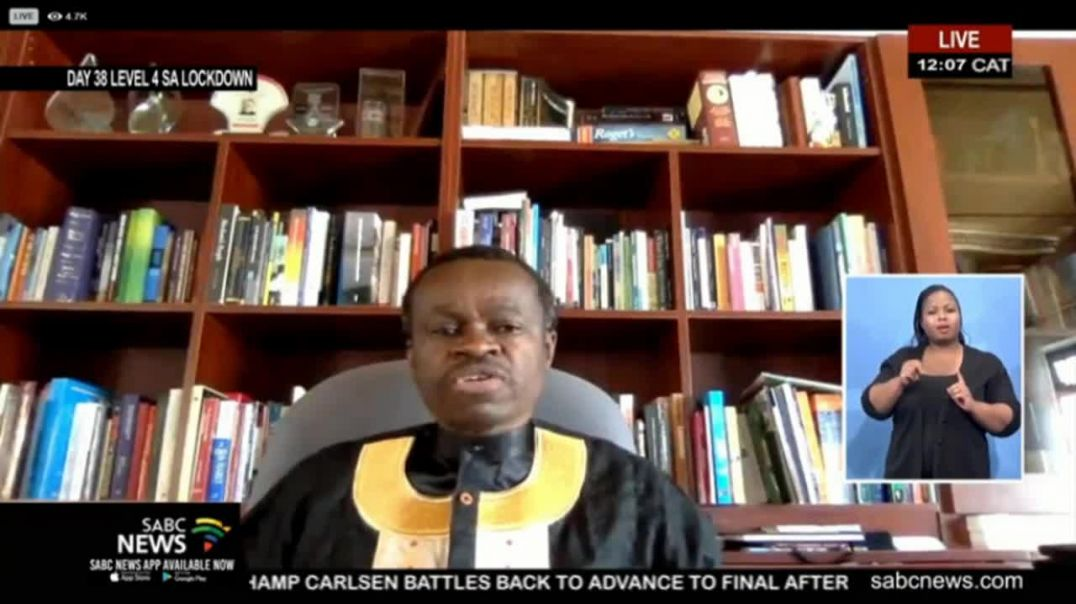 Professor Patrick Lumumba lecture on the History of Pan Africanism