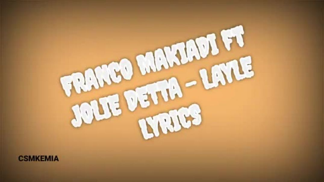 Franco Luambo & Jolie Detta -Layle- Translated to english