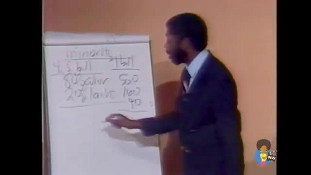 Countering The Conspiracy to Destroy Black Boys (1987)   Dr Jawanza Kunjufu