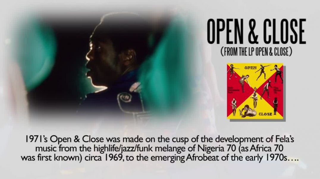 Fela Kuti   -Open and Close (LP)-