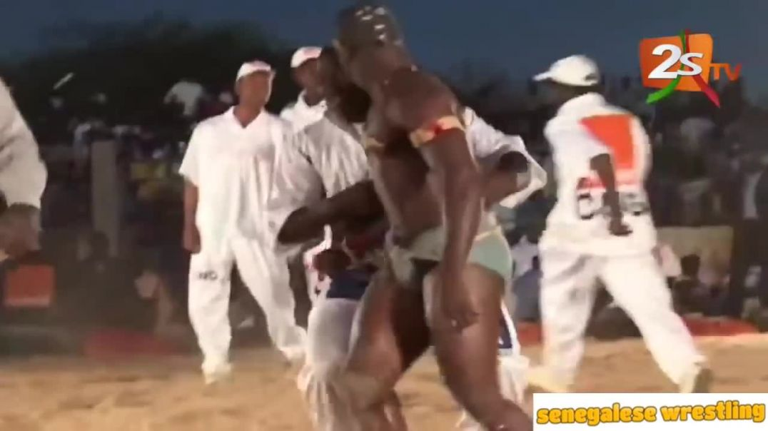 Senegalese Wrestling Highlights