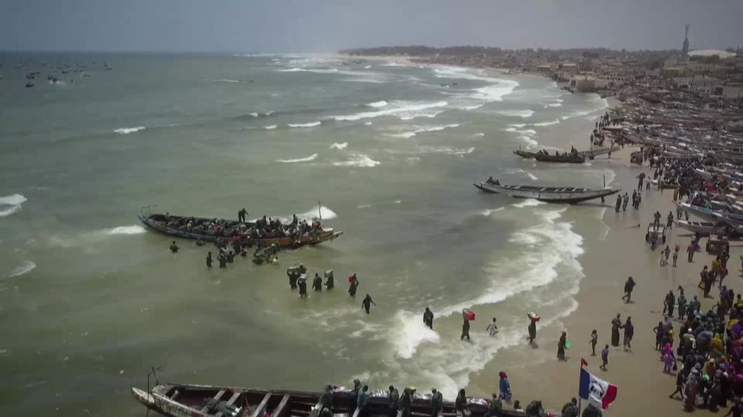 Today in Africa Series.1 of 4 Senegal -The Sentinels of the Water
