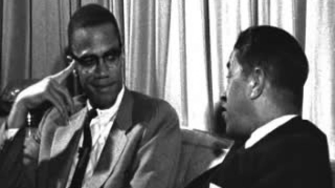 ⁣⁣Mhenga Malcolm X - Debate with James Baldwin [5 September 1963]