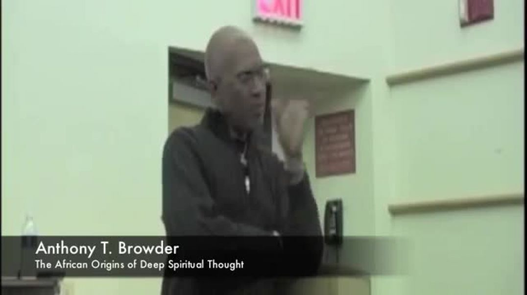 ⁣Anthony T. Browder - The African Origins of Deep Spiritual Thought