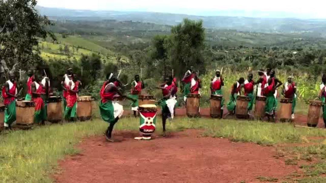 Royal Burundi drummers
