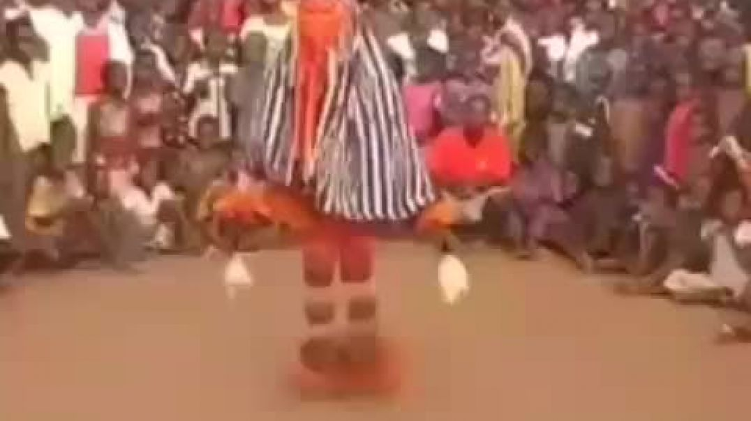 Zaouli dance of the Guro people