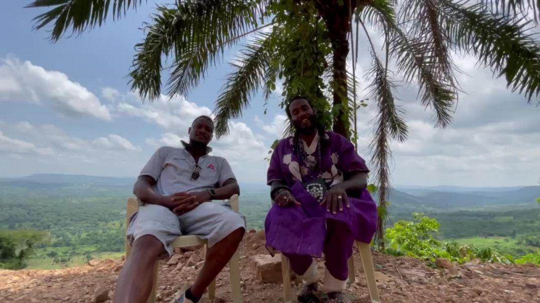 Repatriate to Ghana success story with Okunini Obadele Kambon and Asantu Kweku Maroon Asare