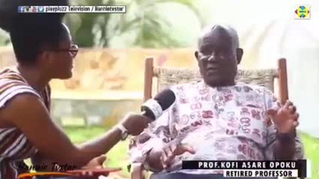 """You cannot build confidence on borrowed culture and religion!"" - Prof. Kofi Asare Opoku"