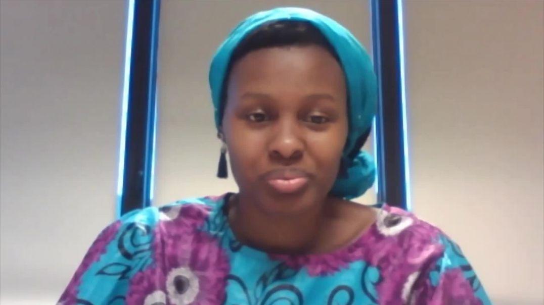 Batey-Ijoh Besong presents Abibitumi Kiswahili class biography project - Wasifu Wangu Kwako