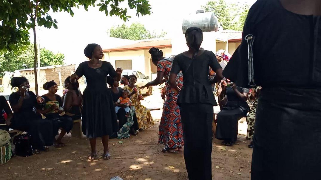 Dagaaba women's funeral dance